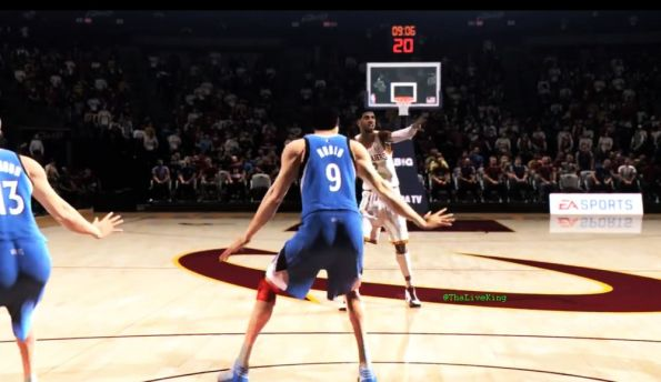 NBA Live 14 Screen Shot: Kyrie Vs Rubio