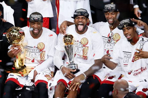 Congrats: Miami Heat NBA Champions