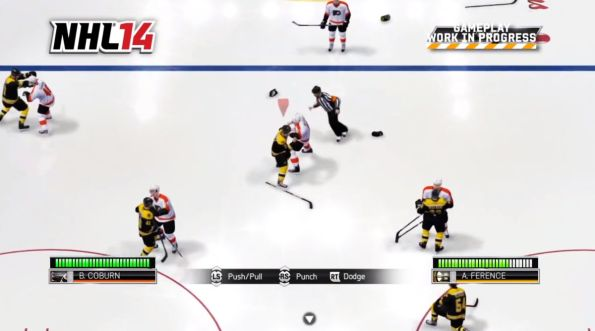NHL14 fight