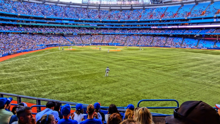 Photo: Toronto Blue Jays Vs LA Dodgers