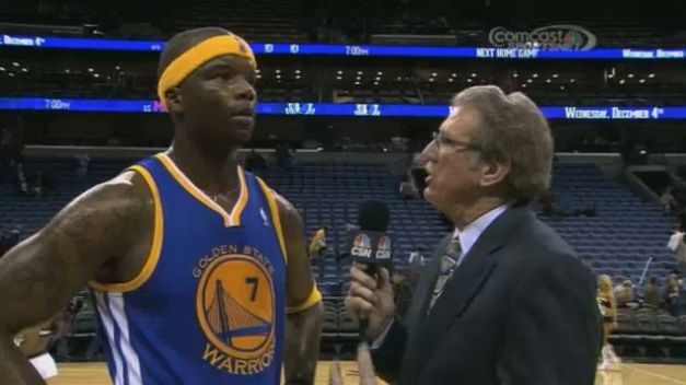 Jermaine O'neal: Best Game as a Warrior, Epic Post Game Interview