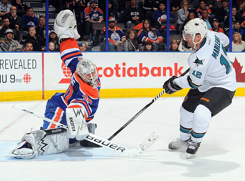 Edmonton Oilers Ben Scrivens: 59 Saves in Shut Out Vs San Jose Sharks