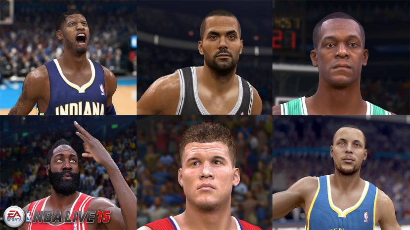 NBA Live 15: First Screen Shots