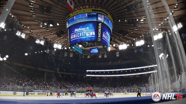 NHL 15: Madison Square Garden Screen Shot